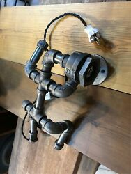 Only US Hand Made in Korea YoYo pipe Wall Hanging Antique Human Lighting $89.00