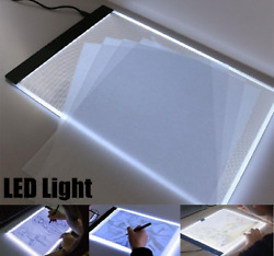 LED Tracing Light Box Board Art Tattoo A4A5 Drawing Sketch Copy Pad Stencil $10.99