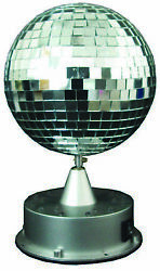 Mirror Ball With Led Base Decoration Prop $31.40