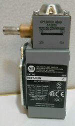 ALLEN BRADLEY OIL TIGHT LIMIT SWITCH 802T H2N $299.99