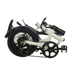 FOLDING ELECTRIC BIKES  E-BIKE LIGHTWEIGHT EBIKE BICYCLE FREE ELECTRIC BIKE BAG! $798.00