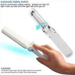 Mini UV Sanitizer Light Foldable Kill Bacteria Ultraviolet Smart Handheld Light $20.99