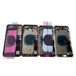 Replacement Glass Housing Battery Back Cover Frame Assembly For iPhone 8 Plus US $27.50