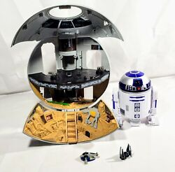 MICRO MACHINES STAR WARS ROGUE ONE DEATH STAR amp; R2D2 TOY *FREE SHIPPING* $47.95