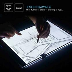 LED Tracing Light Box Board Art Tattoo A5 Drawing Pad Table Stencil Display $8.99