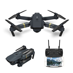 Quadcopter Drone with Camera Live Video EACHINE E58 WiFi FPV Quadcopter with HD $111.75