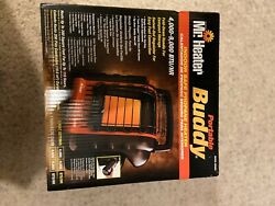 Mr. Heater F232005 Radiant Propane Heater - Red Portable Buddy (Indoor Safe) $60.00