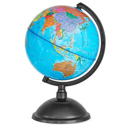 Spinning World Globe for Kids 8quot; Globe of the World for Geography Students $19.99