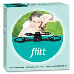 FLITT - Flying Selfie Camera Drone Gloss Black for Pictures & Videos - Hobbico $18.04