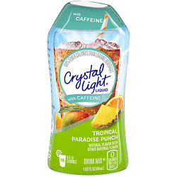 Crystal Light Tropical Paradise Punch Liquid Drink Mix with Caffeine 1.62 oz Bo $11.99