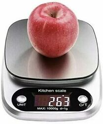 Kitchen Food Scale DigItal Multifunction Grams and Ounces 22lbs Capacity 10kg $14.99