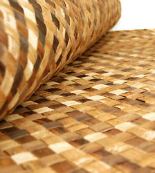 ** 4ftx 8ft Bac Bac Cabana Matting Bamboo Wall Panels Tiki Hut Cabana Ceilings $64.99