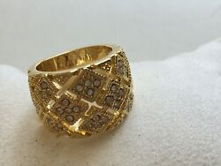 Charter Club Ring Size 5 Gold Tone New Over Stock Without Tags  $4.00
