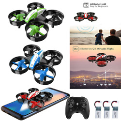 Holy Stone HS210 Mini RC Drone 2.4G Altitude 360° Flip Micro Quadcopter For Kids $24.99