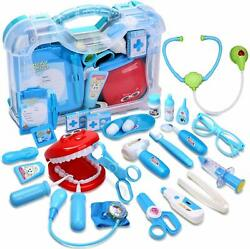 Toy Medical Kit Kids Pretend Play Dentist Doctor Kit Playset Carrying Case 30PCS $20.99