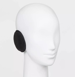 Degrees by 180s Ear Warmers Black Discovery Fleece One Size $12.99