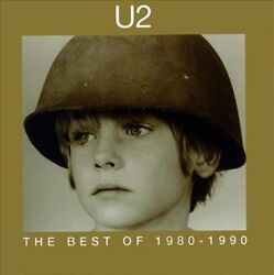 The Best of 1980-1990 by U2 (CD Nov-1998 Island (Label). Played once.