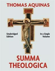 Summa Theologica Complete in a Single Volume Like New Used Free shipping in... $52.27