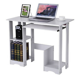 Wood Computer Desk PC Laptop Writiting Table Workstation  Home Office Study $48.99