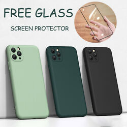 Case For iPhone 12 11 Pro MAX Mini XR XS SE 7 8 PLUS CoverScreen Protector $6.99