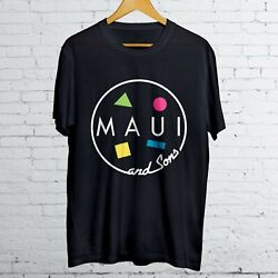 Maui and Son Surf Skateboard B Comfort T-Shirt size S-XL Quality Guarantee $19.99