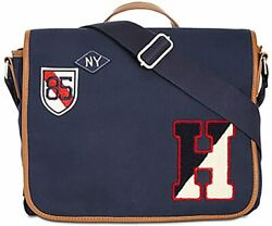 Tommy Hilfiger Men#x27;s Graham Messenger Bag Bags amp; Backpacks Navy $59.99