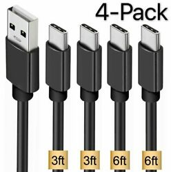 4 Pack OEM Samsung USB C Cable Type C Fast Charger For Galaxy S8 S9 S10 Plus $8.50
