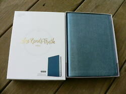 She Reads Truth BIBLE - Shimmer Blue Indexed - Limited Edition