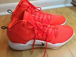 Nike Orange Zoom 2018 Basketball AT3866 805 Sz 16.5