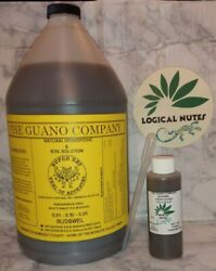 Liquid Guano Budswelfertilizersoilhydroponics 4oz bottle plant nutrients $10.99