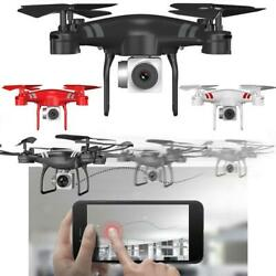 Remote FPV WiFi Drone With HD Camera Aircraft Foldable Quadcopter Selfie Toys $23.52