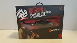 new griffin helo tc assault remote control helicopter for android apple gc30014 $23.95