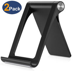 2Pack Adjustable Portable Desktop Phone Stand Desk Holder For iPadiPhoneTablet $7.99