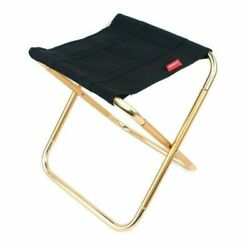 Portable Folding Chair Outdoor Camping Fishing Picnic Beach BBQ Stools Mi $15.99