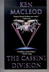 The CASSINI DIVISION Science Fiction paperback book by KEN MacLeod