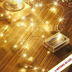 Decorative Light waterproof Functions Copper Wire Led Fairy String Festival
