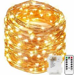 Decorative Light meeting Functions Copper Wire Led Fairy String Festival