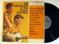 The Golden Hits of THE EVERLY BROTHERS ~ 1962 Vinyl Record $4.00
