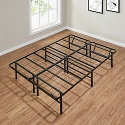 Metal Platform Bed Frame Box Spring Replacement Mattress Foundation 5 Size $55.77