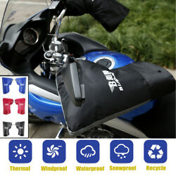 Waterproof Winter Motorcycle  Scooter Handlebar Muffs Gloves Hand Cover Warmer  $14.26