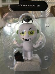 New Large Solar Powered Dancing Toy Bobble Head Mummy Bat Graveyard