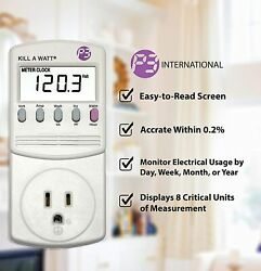 BrandNew P3 Kill A Watt Power Usage Energy Saver Electricity Meter Monitor P4400 $47.00