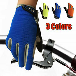 Kids Bike Gloves Full Finger Children Outdoor Bike Cycling Touch Screen US Stock $9.99