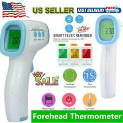 No Touch Infrared Digital Forehead Thermometer Baby Adult Body Temperature Gun $30.35