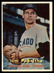 1957 Topps #235 Tom Poholsky EXNM Cubs    ID:61361 $6.00
