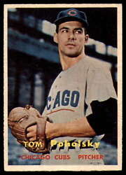 1957 Topps #235 Tom Poholsky EXNM Cubs    ID:61362 $6.00