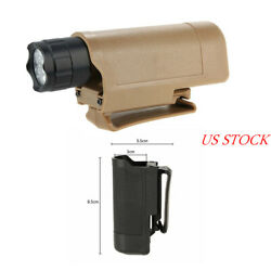 Quick Draw Tactical Flashlight Holster Holder for MOLLE Waist Carry Case $8.81
