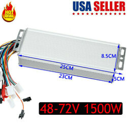 48-72V 1500W Electric  E-bike Scooter Brushless DC Motor Speed Controller $29.99