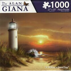 The Art Of Alan Giana: It Will be a Good Day 1000 Piece Puzzle $29.99