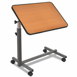 Overbed Rolling Table Laptop Food Tray Hospital Desk $65.99